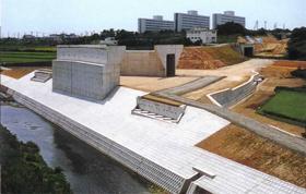 建設省 中部地方建設局/国道23号西の川橋下部工工事
