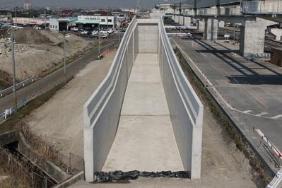 平成29年度 302号飛島地区道路建設工事