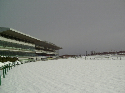 中京競馬場内保守管理作業:競馬開催 除雪作業